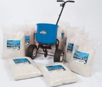 18Kg Salt Spreader With 10 x 25kg Bags Of Salt