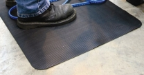 Durable PVC Surface Fluted Anti Fatigue Matting