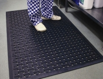Raised And Textured Anti Bacterial Kitchen Mats