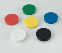 Pack Of 10 Assorted Colours Magnets