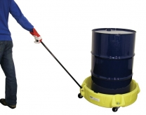 Robust Polyethylene Drum Transporting Spill Scooter