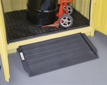 Drum Storage Hut Multi-Purpose Access Ramp