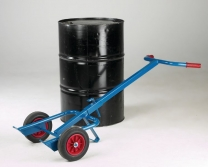 Powder Coated Tubular Steel 210 Litre Drum Transporters without wheels