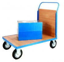 Platform Trolley with 1 Plywood End