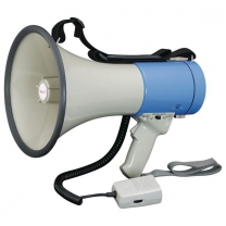 Push Button Control ABS Plastic Megaphones With Microphone