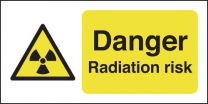 Danger Radiation Risk Sign