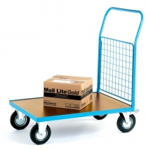 Standard Meshed End Warehouse Platform Trucks