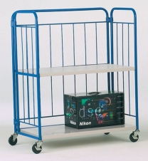 Space Saving Foldable 3 Shelf Folding Truck