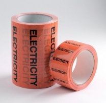 Electricity Pipeline Marking Information Tape