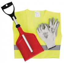 Vehicle Winter Kit With PPE Kit And Shovel