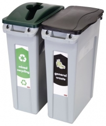 Rubbermaid® Slim Jim Recycling Stream Starter Packs