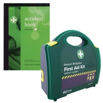 A4 Accident Reporting Book And First Aid Kit