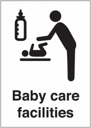 Baby Care Facilities Sign