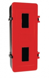 Single Polyethylene Fire Extinguisher Cabinets