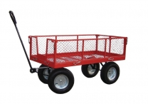 Platform Truck With Mesh Sides And Mesh Deck
