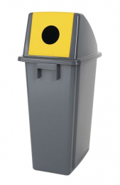 Economy Can & Bottle Recycling Bin 60 Litre Capacity