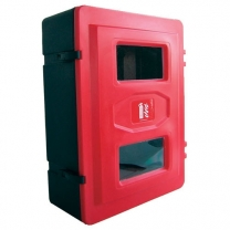 Double Deluxe Fire Extinguisher Cabinets