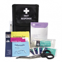 First Response First Aid Kit in Belt Wallet