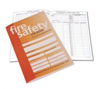 A5 Size Fire Safety Log Book Company Fire Log
