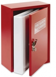 Metal Cabinet Document Holder With Tamper Evident Fastening