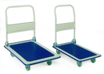 Economy Folding Platform Trolleys With Anti Slip Deck