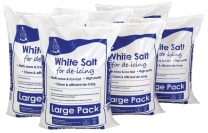 White De-Icing Rock Salt 6 bags For The Price Of 4