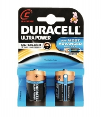 DURACELL Ultra M3 Battery Size C Pack 2