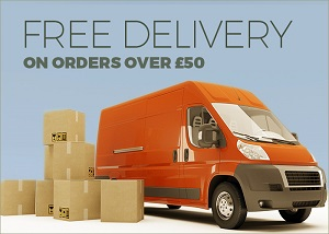 Free delivery on orders of £50